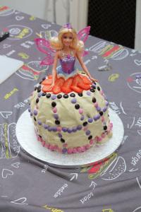 A Princess Birthday Cake For My Girl's Fourth